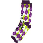 The Joker Argyle Crew Socks