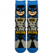 Batman Socks, Blue Outfit