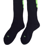 Lian LifeStyle Big Boy's 1 Pair Knee High Athletic Sports Socks 0025 M