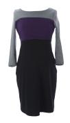 JULES & JIM Maternity Women's Colour-Block Nursing Dress Medium Multi-Colour