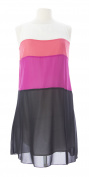 JULES & JIM Maternity Women's Colour Block Dress Medium Multi-Colour