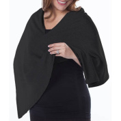 Loving Moments by Leading Lady Maternity Nursing Cover Converts to Fashionable Nursing Scarf