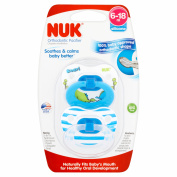 NUK 6-18 m Silicone Orthodontic Pacifier