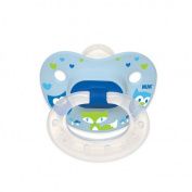 NUK Woodlands Silicone Orthodontic Pacifiers, 2 ct