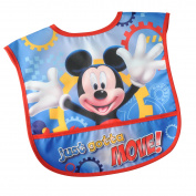 Disney Mickey Mouse Single Water-Resistant Toddler Bib