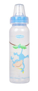 Evenflo Zoo Friends Bottle with Standard Nipple - 240ml - Blue