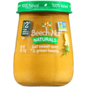 Beech-Nut Stage 2 Naturals Just Sweet Corn & Green Beans Baby Food, 120ml