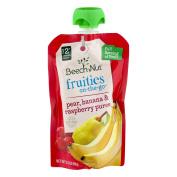 Beech-Nut Fruities On-The-Go Stage 2 Pear, Banana & Raspberry Puree, 100ml