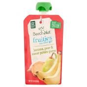 Beech-Nut Stage 2 Stage 2 Fruities On The Go Apple, Banana, Pear, Sweet Potato Puree, 100ml