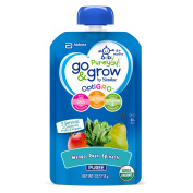 Go & Grow by Similac Pouches with OptiGRO™, Mango, Pear, Spinach Puree, For 6+ Months, Organic Baby Food, 120mls