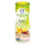 Gerber Organic Puffs Cranberry Orange, 45ml