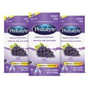 Pedialyte Electrolyte Drink Powder, Grape, Powder Sticks, 20ml