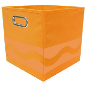 Crayola Tone Serpentine Orange Storage Bin