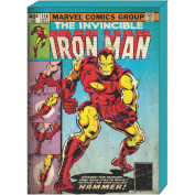 Marvel Iron Man Retro Comic Book Cover MDF Box Art