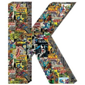 Marvel Retro Comics Wood Letter 'K'