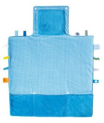 Snoozebaby Easy Change Compact Nappy Changing Kit, Blue