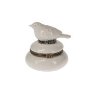 Midwest Seasons Father Frost Bird Hinged Box