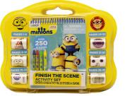 Minions Finish the Sticker Scene