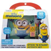 Minions Stick N' Stamp Activity Set