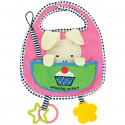 Kids Preferred Amazing Baby Activity Bib, Bunny