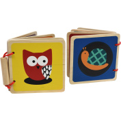 Spark Create Imagine Wooden Books, 2 pieces