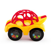 Oball Rattle and Roll Toy Car - Yellow