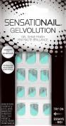 SensatioNail Gelvolution Nail Colour Kit, Aqua Shine, 31 pc