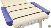 DevLon NorthWest Massage Table Extension + Blue + Side Armrest Bolster + 10 Add On