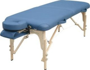 Solutions Heritage Portable Wood Massage Table-Colour:Black