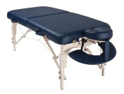 Solutions Luxor Portable Wood Massage Table-Colour:Navy
