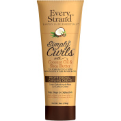 Every Strand Simply Curls with Coconut Oil and Shea Butter Professional Curling Creme, 240ml