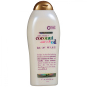 OGX Ultra Moisture Body Wash Extra Creamy + Coconut Miracle Oil, 580ml