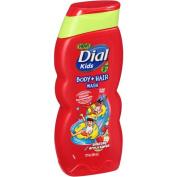 Dial Kids Body & Hair Shampoo / Body Wash Bursting Apple Rapids 350ml