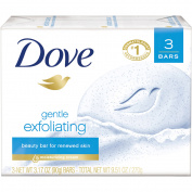 Dove Gentle Exfoliating Beauty Bar, 90ml, 3 Bar