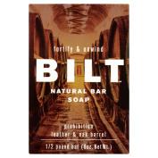 BILT Fortify & Unwind Prohibition Leather & Oak Barrel Natural Bar Soap, 240ml