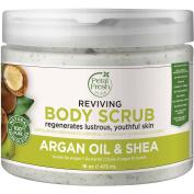 Petal Fresh Pure Argan Oil & Shea Reviving Body Scrub, 470ml