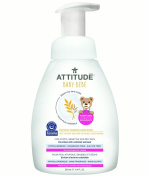 Attitude Baby Sensitive Skin Care Natural Foaming Hand Wash, Fragrance Free, 250ml