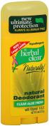 2 Pack - Herbal Clear Natural Deodorant Clear Aloe Fresh 80ml