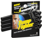 3 Pack - Bump Fighter Disposable Razors 4 Each