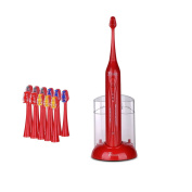 Pursonic High Power Sonic Toothbrush with 12 Brush Heads and Storage