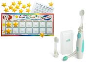 Kenson Kids Brush My Teeth Reward Chart with Vibrating Toothbrush