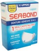SEA-BOND Denture Adhesive Seals Uppers Original 30 Each