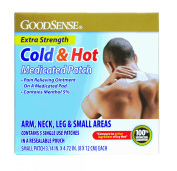 Hot and Cold Medicated Patch, 7.6cm - 0.4cm x 10cm - 1.9cm