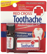 5 Pack - Red Cross Toothache Complete Medication Kit 5ml Each