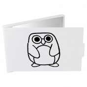 'Cute Penguin' Compact / Travel / Pocket Makeup Mirror