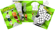 Pack of 12 - Football Soccer Fun and Games Activity Sheets - Party Bag Books Fillers