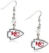 NFL Crystal Dangle Earrings