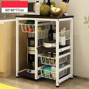 TRRE@ Multilayer Kitchen Microwave Shelf Storage Rack Under Shelf Storage