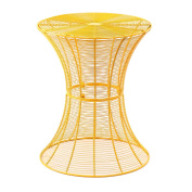 Homebeez Round End table, Side tables, Iron Wire Weave Netting Multi Colour