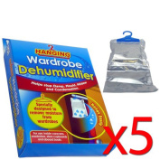 Hanging Wardrobe Dehumidifier - In Pack size of 1/2/3/5